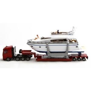 [当当自营]siku 德国仕高 1:87 重型运输车带游艇 合金车模玩具 U1849