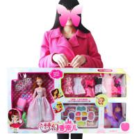 芭比娃娃套装大礼盒玩具婚纱梦幻衣橱服儿童女孩玩具过家家洋娃娃