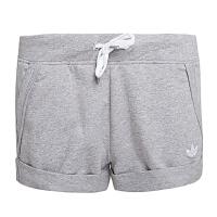 adidas阿迪三叶草2016年新款女子三叶草系列针织短裤AJ7614