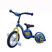 儿童自行车三轮车伟乐 皮球童车脚踏三轮车自行车