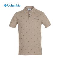 【满500减150】Columbia哥伦比亚男士速干简约POLO衫翻领短袖T恤AE1092