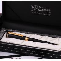 毕加索PS-902纯黑金夹铱金笔钢笔当当自营