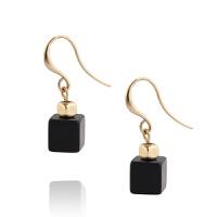 Arts & Crafts/A&C signature系列黑色立方体仿宝石女士耳饰 支持礼品卡支付