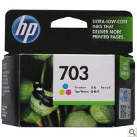 原装惠普HP703 彩色墨盒 适用于 HP Deskjet D730/F735/K109A/K209A/K510A