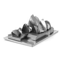 全金属 DIY拼装模型 3D纳米 立体拼图建筑 悉尼歌剧院