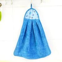 大贸商 加厚擦手巾 超强吸水珊瑚绒擦手布 厨房挂式毛巾