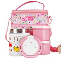 米菲正品营养不锈钢保温桶儿童焖烧罐男女学生饭盒粥壶