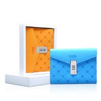 卡杰A6创意文具活页笔记本带锁密码本记事本商务学生文具笔记本子