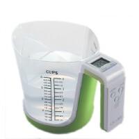 香山厨房电子秤EK6331厨房秤称台秤克秤多功能量杯秤 正品特价(绿色)