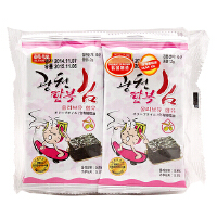 [当当自营] 韩国进口 韩福10.2 烤紫菜 16g