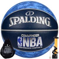 斯伯丁spalding篮球NBA数码迷彩PU水泥地耐磨室内外通用7篮球74-934Y