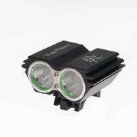 夜骑t6自行车灯前灯可充电强光手电筒远射山地车死飞骑行装备配件