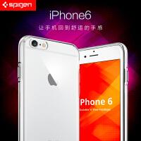 SPIGEN韩国SGP 新款苹果iPhone 6/6S 4.7寸轻薄透明硅胶套苹果6S保护软套 潮男潮女