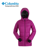 Columbia/哥伦比亚户外女款防水加厚连帽羽绒服PL5033