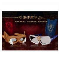 潮流时尚霸气3d不闪式偏光reald眼镜 轻盈舒适耐用左右立体三D眼睛
