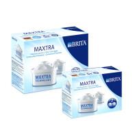 碧然德(Brita)Maxtra净水壶净水器滤水壶双效滤芯 4枚装(P2*2)
