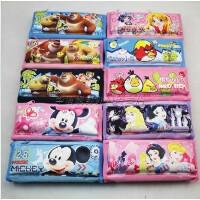 日韩学生卡通铅笔袋 大容量可爱文具袋 米奇/熊出没/公主 多款选