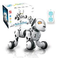 儿童智能机器狗遥控电动玩具小狗会唱歌跳舞走路男孩电子玩具狗狗