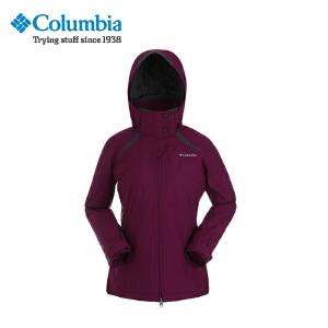 【领卷满400减100】Columbia/哥伦比亚 户外女款防水保暖三合一冲锋衣PL7008