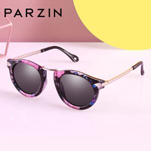 帕森儿童太阳眼镜 女童复古金属箭头潮墨镜偏光镜 新品D2005