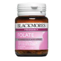 澳洲直邮 Blackmores Folate 500mcg 叶酸片90粒 孕早期必备