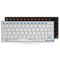 Rapoo/雷柏E6100 Ipad/安卓平板无线蓝牙键盘 WIN8/苹果系统*键盘 全新盒装正品行货