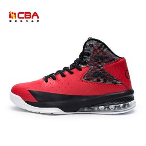 CBA正品专业篮球鞋男子透气耐磨大码鞋战靴高帮学生运动鞋男球鞋