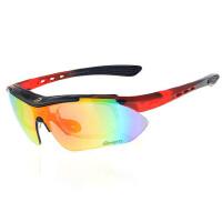 骑行眼镜纯PC镜框BS201 偏光太阳眼镜运动眼镜三副镜片