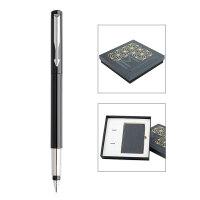 【当当自营】PARKER 派克威雅黑色胶杆墨水笔/笔记本礼盒
