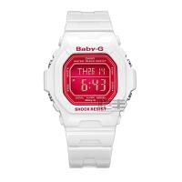 【领券立减150元】卡西欧(CASIO)BABY-G系列运动休闲电子功能女士手表BG-5601-1D/BG-5601-4D/BG-5601-7D