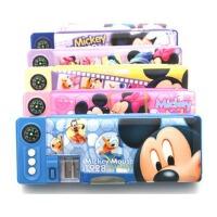 迪士尼多功能文具盒 米奇铅笔盒 学生文具盒 多色可选