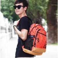 双肩包 旅行包 背包 韩版多功能包 学院风旅行背包 男女帆布电脑包中学生书包潮