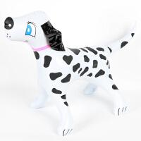 大贸商充气斑点狗粉领带 儿童充气玩具 创意动物塑料批发AE00279