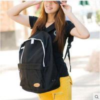 潮流男中学生书包女生背包女韩版旅行双肩包学院风情侣背包