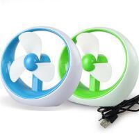 新款创意USB电池两用空调迷你风扇