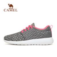 camel骆驼户外减震女士越野跑鞋 女款透气时尚跑步鞋
