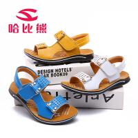 哈比熊童鞋儿童凉鞋男童夏季韩版沙滩鞋儿童鞋子小中大童宝宝男孩GU2511