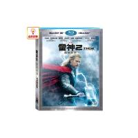 正版电影 雷神2 黑暗世界 3D 蓝光碟 2D蓝光碟