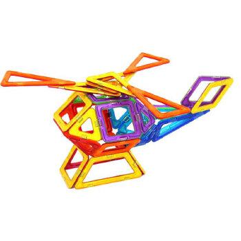 磁力片百变提拉积木 儿童益智玩具