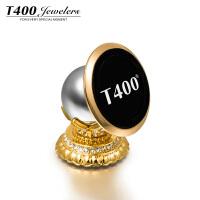 T400  莲花 采用施华洛世奇元素水晶 手机支架 车载 镀金 90499