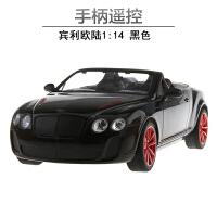 宾利欧陆充电方向盘遥控汽车跑车手柄遥控车儿童男孩玩具车