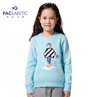 派克兰帝品牌童装 秋装男童女童针织抓毛套头卫衣