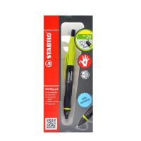 STABILO 思笔乐 智能乐0.5活动铅笔 笔杆黑色/绿色2B 学习办公用品1842/3-12B 当当自营