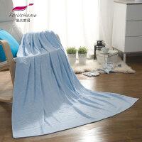 [当当自营]维众提花毛巾被 毯子单人小熊蓝145*200cm