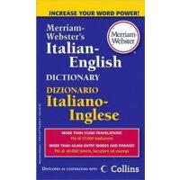 韦氏原版词典 Merriam-Websters Italian-English Dictionary