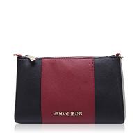 Armani/阿玛尼AJ ARMANI JEANS拼色设计单肩斜挎女包 银泰 支持礼品卡支付