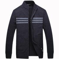 伯思凯男士针织立领羊毛开衫 2015秋季新款商务休闲薄外套男毛衣
