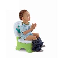 费雪儿童豪华音乐嘘嘘乐BGP35坐便器男女宝宝便携式小马桶垫脚凳BGP36