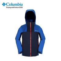 【满500减150】Columbia/哥伦比亚户外男款防水热反射三合一冲锋衣PM7788