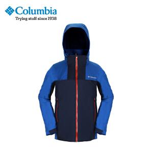 【领卷满400减100】Columbia/哥伦比亚户外男款防水热反射三合一冲锋衣PM7788